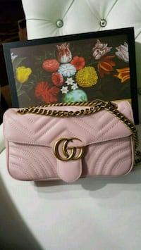 Gucci leather marmont cross body bag with box Mississauga, L5W 1P1