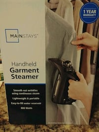 Garment Hand Steamer Brand New Attachments included