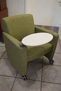 Haworth ToDo lounge chair w/rolling casters Fairfield