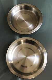Stainless steel pet dishes Silver Spring