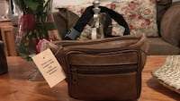 Genuine Brown Leather Fanny Pack Purse Gainesville, 20155