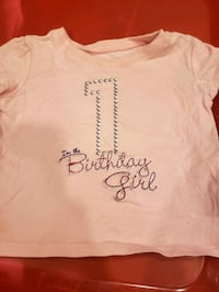 Birthday shirt and highchair decoration w/napkins  Springfield, 22150
