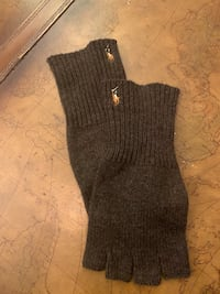 Polo Ralph Lauren Brown Knitted Gloves