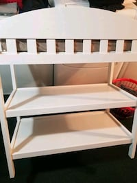 Baby changing table.