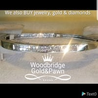 14kt Diamond Bangle Bracelet  Woodbridge, 22192