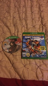 Xbox One Just Cause game disc and case South Huntingdon, 15698
