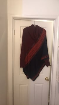 Women's Turtleneck Poncho