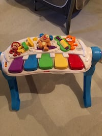 Musical baby keyboard.