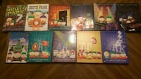 South Park DVD seasons 3-12 Abbotsford, V2T 2H3