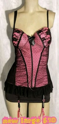 black and pink floral sleeveless dress Las Vegas, 89169