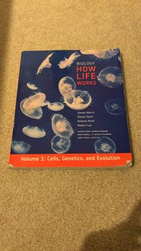 Biology: How Life Works (volume 1) Gainesville, 20155
