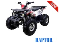 BRAND NEW ATV RAPTOR 125CC  Las Vegas
