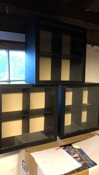 Pottery barn wall display cubes $15 each