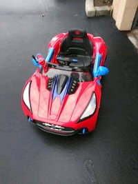 Spider Man Electric Car