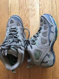 Boys Boots Size 6.  Barely used, wore once.  Great for hiking, camping.