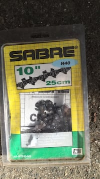 "Sabre 10"" chain saw chain Georgetown, 49418"
