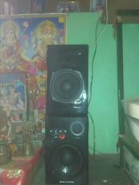 black and gray stereo component Moradabad, 244001