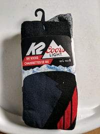 K2 Coors light ski socks Niagara Falls, L2E 3K9