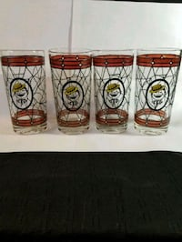 Vintage rare-  Soda Boy TIFFANY Glasses  Riverside, 92504