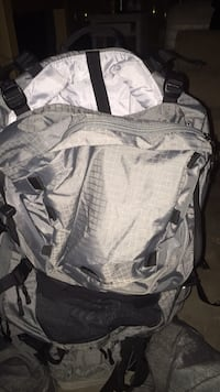 gray and black camouflage backpack 2056 mi