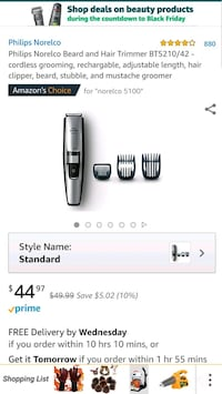gray and black Philips Norelco shaver Houston, 77030