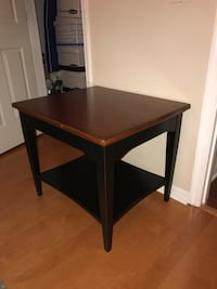 brown wooden 2-layer side table Gainesville, 32608