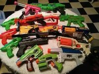Different toy guns