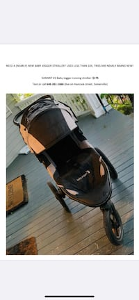 Summit x3 baby jogger Stroller-like new!