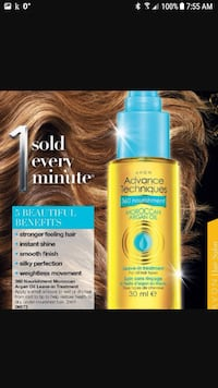 Morroccan Oil for Hair.  New Edmonton, T6M 2G7