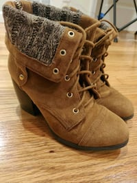 Brown Ankle Boots Size 5.5 San Francisco, 94105
