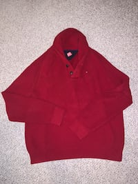 Tommy Hilfiger XL Red Sweater