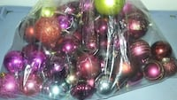 X MAS BULBS $1 a bag of 50+