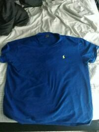 blue Ralph Lauren crew-neck t-shirt