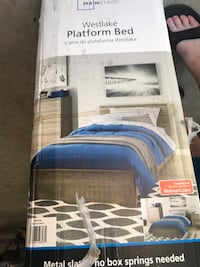 New Twin platform bed  Inverness, 34452