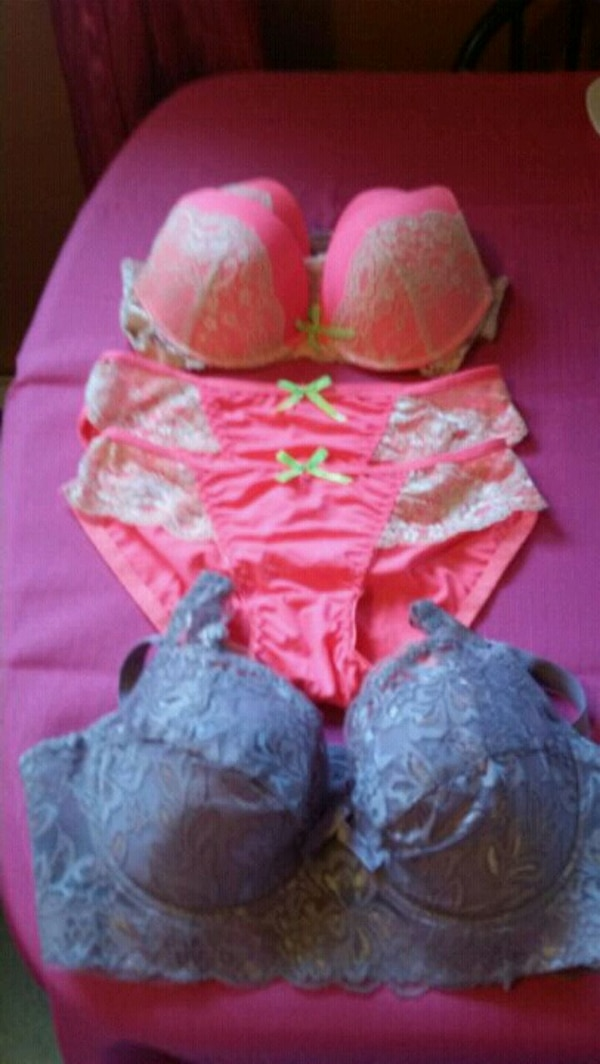 1f29817526 Used women s white floral lace bra and panty for sale in Sault Ste. Marie -  letgo