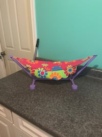 """Hammock for an 18"""" doll Jessup, 20794"""