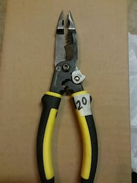 black and yellow handled pliers 1020 mi