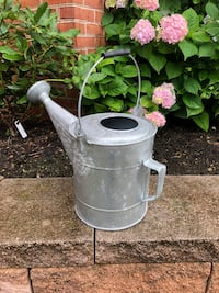 Galvanized Metal Watering Can; Never used Clear Spring, 21722