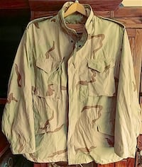 US Military Field Jacket Size XL long  Andover