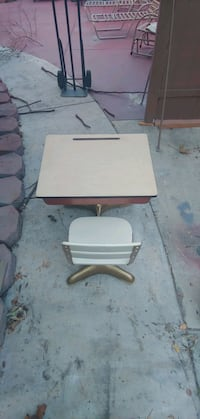 Circa 1950s desk chair student Pomona, 91768