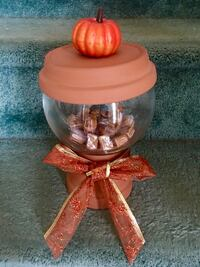 Thanksgiving/Halloween Candy Jar