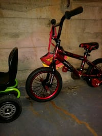 toddler's red and black bicycle Roanoke, 24017
