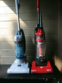 two red and blue upright vacuum cleaners Clovis, 93611