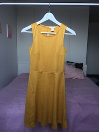 Yellow summer dress