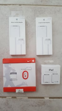 Apple iPad iPhone Accessories and Adapters