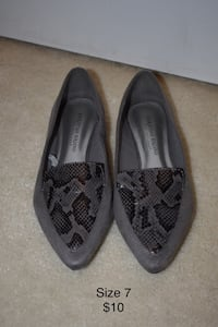 Christian Siriano size 7 flats  - price not negotiable - pick up only Germantown