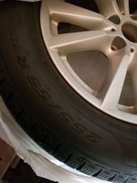 "BMW X5 Rims and  18""WinterTires Like New Caledon, L7E 0G1"