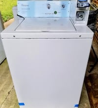 Whirlpool Coin-Op Washing Machine Washington
