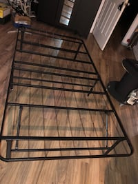 standing twin bed frame