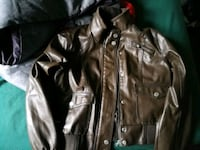 Brown faux leather women's jacket Moncton, E1C 4Z7